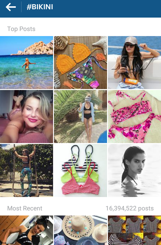 How to Instagram's top hashtags work?