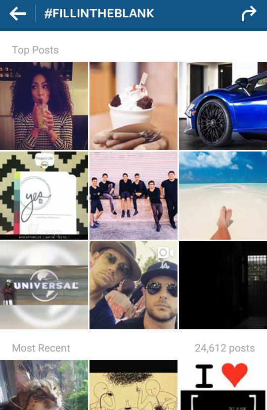 #fillintheblank on Instagram