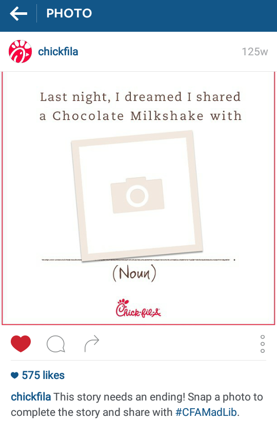 Brands asking the right questions on Instagram