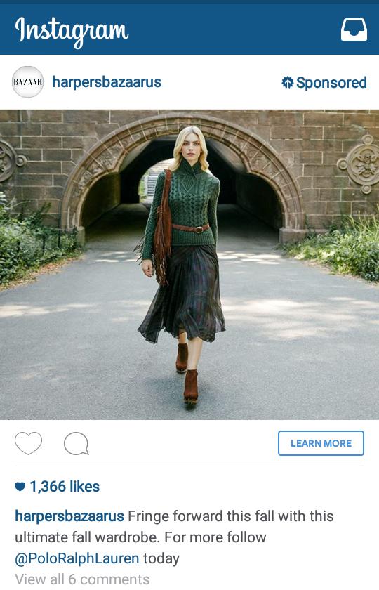 Instagram rolls out self serve advertising platform for all advertisers