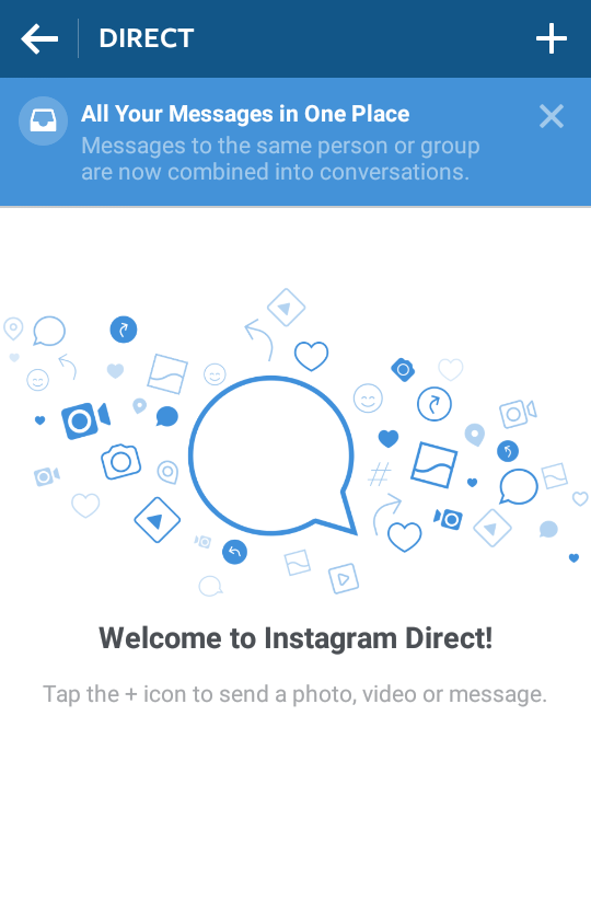Instagram's new Direct messaging update