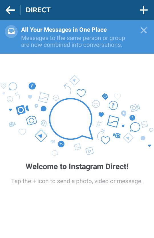 Instagram's new Direct messaging update
