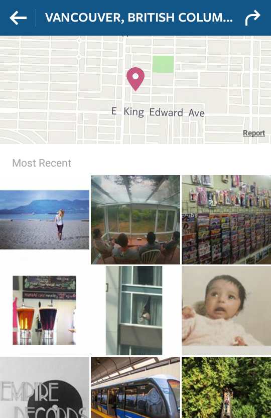 Is your Instagram showing Top Posts and Top Locations?