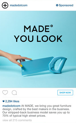 Instagram targeted ads