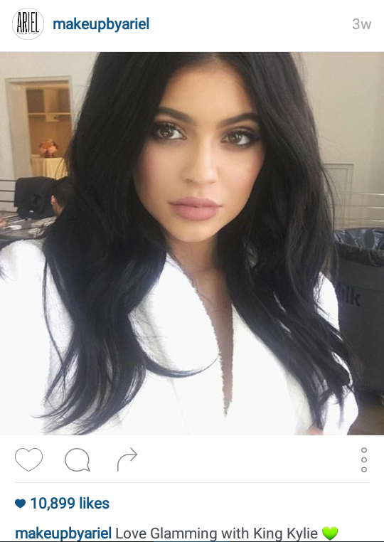 Want to get discovered by the Jenner's on Instagram?