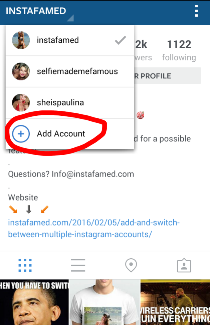 Have you tried out account switching on Instagram yet?